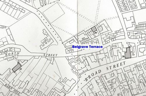 Belgrave Terrace, off North Street