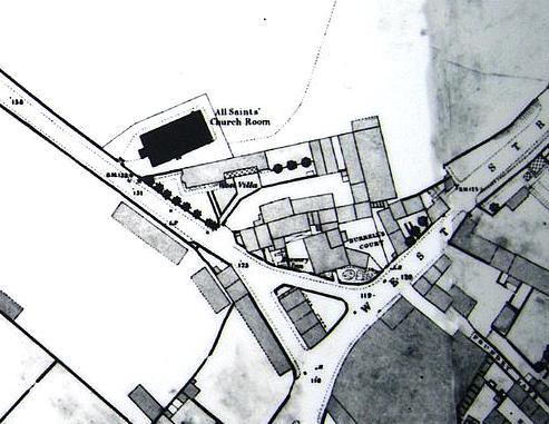 Map Burrells Court, West Street