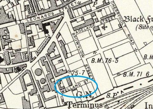 Welland Street, Stamford - now redeveloped
