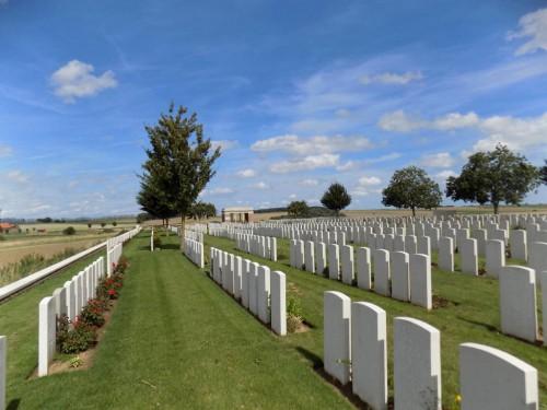 Fins New British Cemetery, Sorel-Le-Grand