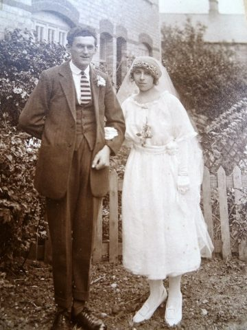 George Purcell Baker - wedding photo