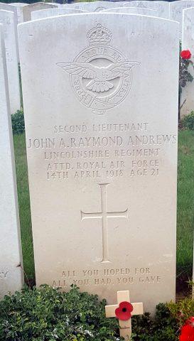 John Alfred Raymond Andrews