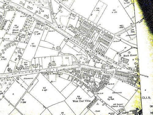 Map Casterton Road