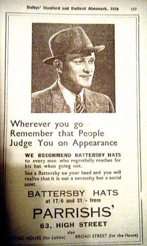 Parishs Advert