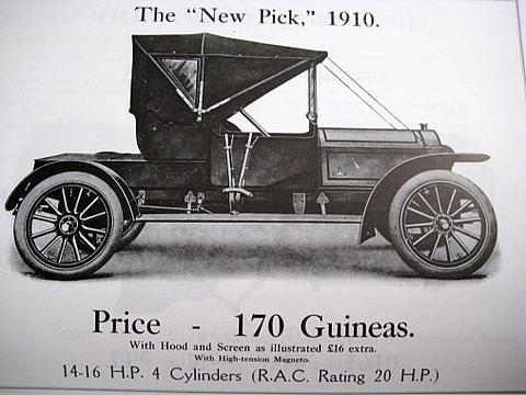 Pick Car 1910