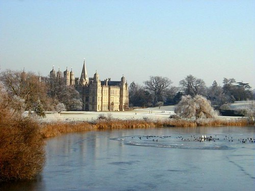 Burghley Park and House