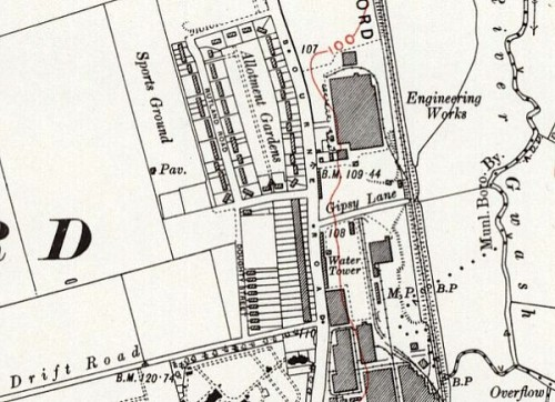 Burghley Houses, Ryhall Road Map